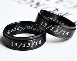 d20 spinner ring black spinner etsy