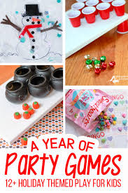 room parent halloween party letter holiday party games jingle bell toss