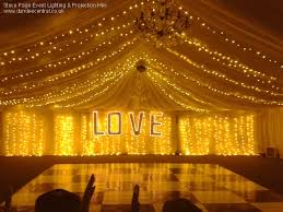 wedding backdrop with lights steve page lighting hire fairy light backdrops and starcloths
