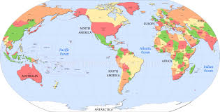 Map Of Countries World Map A Clickable Of Countries Throughout The Whole