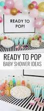 Baby Shower Decor Ideas by Ready To Pop Baby Shower Pop Baby Showers Baby Shower Themes