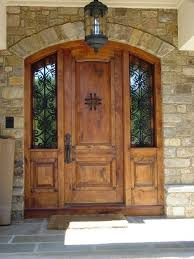 Exterior Door Wood Front Doors Wood Front Door With Sidelights Wood