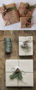 rustic christmas wrapping paper best 25 brown paper wrapping ideas on gift wrapping