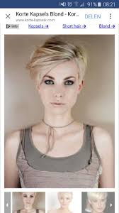 307 best kapsels images on pinterest hairstyles pixie