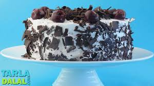 ब ल क फ र स ट क क black forest cake by tarla