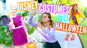 Family Disney Halloween Costumes by Diy Disney Costumes For Halloween Youtube