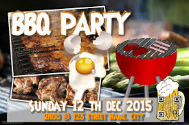 customizable design templates for bbq party postermywall
