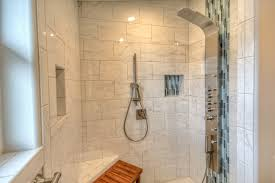 our home separate toilet and shower area with 4 ft x 4 ft foot clear area between shower and toilet for easy turning radius this room has an out swing door for easy