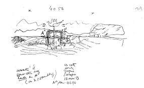 le corbusier sketches sketch coloring page