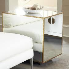 vintage gold side table gold side table