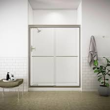 kohler fluence 59 5 8 in x 75 in frameless sliding shower door