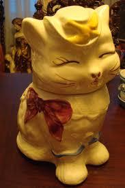 shawnee puss u0027 boots cookie jar cat short tail 5 ebay