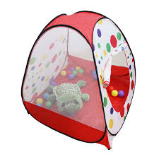 House Gift Amazon Com Sunnycat Pop Up Polka Dot Teepee Easy Twist Play Tent