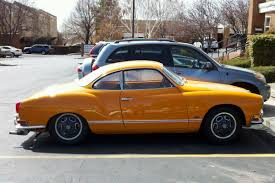 karmann ghia 1973 the street peep orange peel 1969 karmann ghia