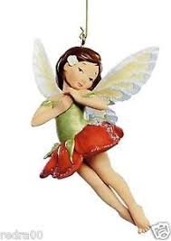 poinsettia fairy 2005 hallmark keepsake ornament first in fairy