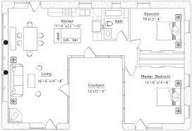 custom 80 u shaped house plans inspiration of best 20 u shaped