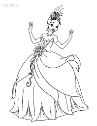 tiana coloring pages princess tiana coloring pages tiana princess