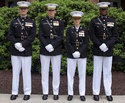 Usmc Flag Officers Marine Corps To Expand Testing Of New Female Dress Blue Coat