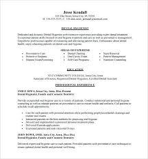 resume exles objective for any position trigger dental hygiene resumes tool worksheet image for improvement