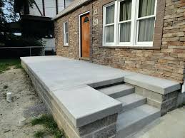 Painted Concrete Porch Pictures by Articles With Concrete Porch Slab Design Tag Remarkable Cement