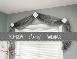 Modern Window Valance Styles Best 25 Scarf Valance Ideas On Pinterest Curtain Scarf Ideas