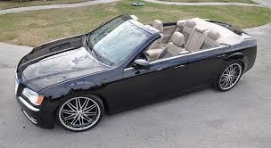 dodge charger convertible drop top customs creates chrysler 300 dodge charger convertible