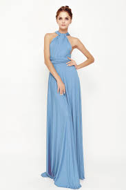 86 periwinkle maxi convertible dress infinity bridesmaid dress lg