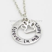 pet remembrance jewelry 2015 new arrive pet memorial jewelry pet loss gift forever in my