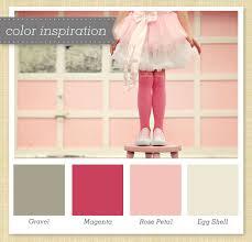 Pink Color Scheme Gravel Magenta Rose And Egg Shell Color Palette 8 Egg Shells