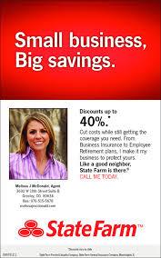 state farm insurance agent melissa mcdonald