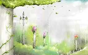 download wallpaper 1920x1200 autumn birch color paint plants
