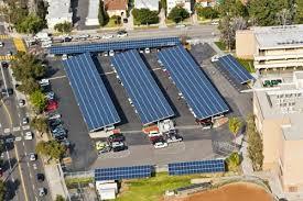 solar panel parking lot lights the design basics for solar parking lots you need to know design news