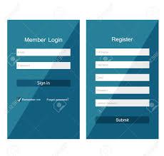 login sign form template green medical certificate sample
