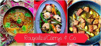 comment cuisiner le plat de cote rougailles carrys plats en sauce recettes mauriciennes