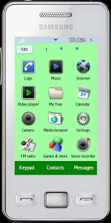 themes samsung wave 723 the androstar theme for samsung s5260 star 2 by tmf the mobi forest