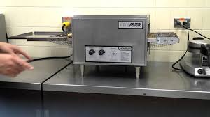 Conveyor Toaster Oven Conveyor Toaster Youtube