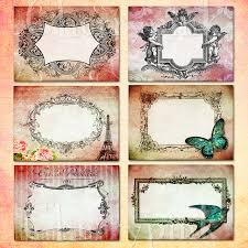 6 best images of shabby chic printable gift tags free printable