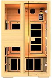 Keys Backyard Infrared Sauna by Amazon Com Jnh Lifestyles 2 Person Far Infrared Sauna 7 Carbon