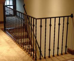 Landing Banister Wrought Iron Railings Fireplace Surrounds Home Decor