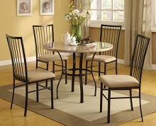 Dining Table And Fabric Chairs Our Dining Room Furniture