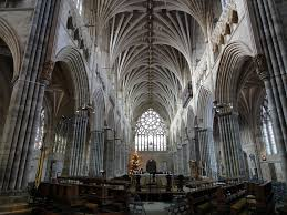 Cathedral Interior Exeter Cathedral Interior Looking Back Down The Nave From U2026 Flickr
