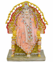 shree balaji home decor textured resin sai baba idol buy shree