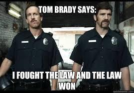 Peyton Manning Tom Brady Meme - i fought the law and the law won tom brady says eli peyton