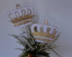 theme centerpieces crown centerpieces etsy