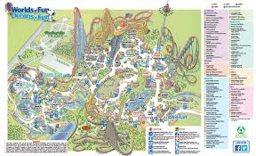 Mo Map Worlds Of Fun Only Open Saturday Not Friday World U0027s Of Fun