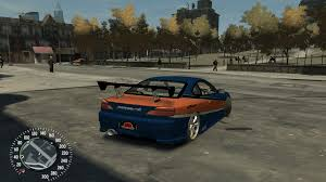 nissan silvia fast and furious gta gaming archive
