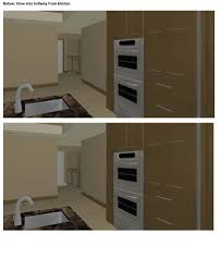 painting stained wood trim stained trim and painted doors 3d renderings attached floor