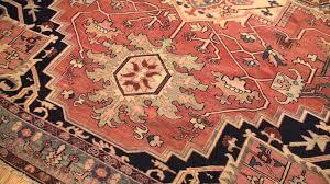 Antique Heriz Rug Antique Heriz Serapi Persian Rug 44199 9 Ft X 11 Ft 08 In