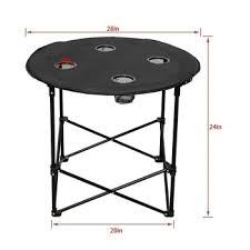 Camping Picnic Table Wholesale Cheap Portable Folding Round Camping Picnic Table With