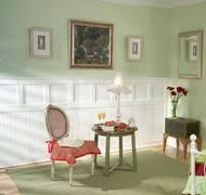 Wainscot America Wainscoting Kit Two Tiered Wainscot Panels Classic Cottage 4
